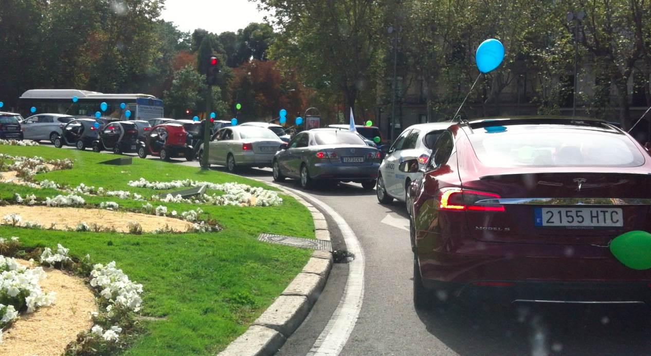 Marcha de vehículos eléctricos